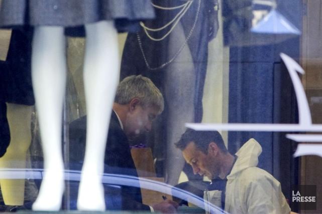 La fusillade survenue peu après 13h30, le 18... (Photo Alain Roberge, Archives La Presse)