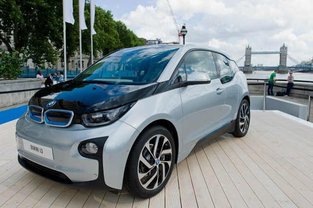 La BMW i3... (PHOTO LEON NEAL, ARCHIVES AFP)
