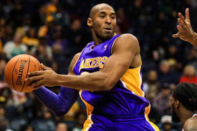 Kobe Bryant... (Photo Daniel Shirey, USA Today)