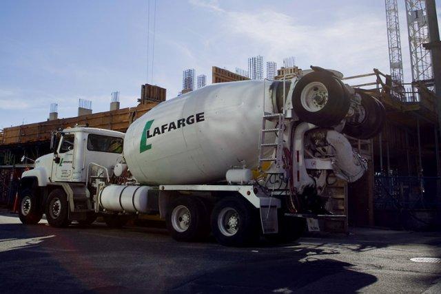 Lafarge Algérie a deux activités de ciment (M'sila... (Archives Bloomberg)