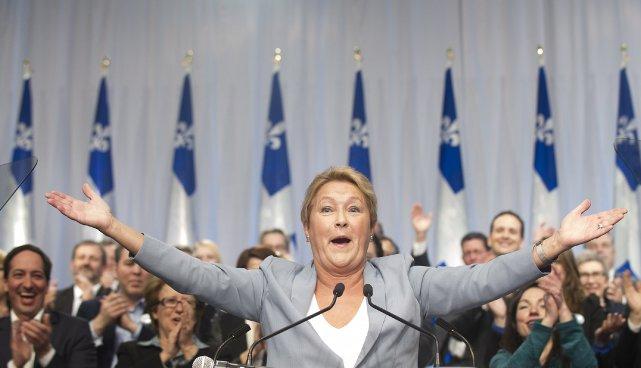 S'ils obtiennent la majorité convoitée le 7 avril... (Photo Graham Hughes, La Presse Canadienne)