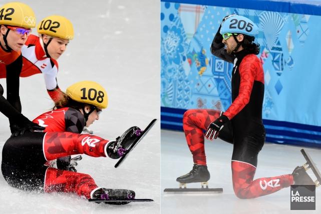 La journée du 18 février avait bien mal... (Photos Bernard Brault, La Presse)
