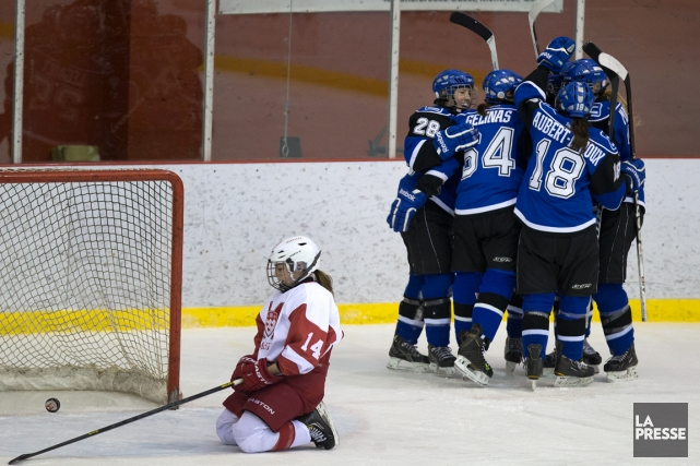 Les Carabins de l'Université de Montréal ont remporté... (Photo Robert Skinner, La Presse)