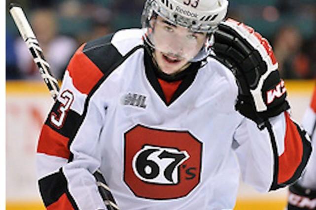 Erik Bradford .... (Courtoisie, Ligue de hockey de l'Ontario)
