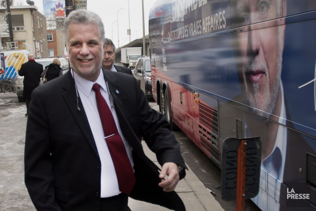Le chef du PLQ, Philippe Couillard... (Photo Ryan Remiorz, PC)