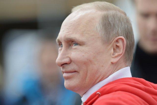 Le président russe Vladimir Poutine.... (PHOTO ALEXEY NIKOLSKY, AFP)