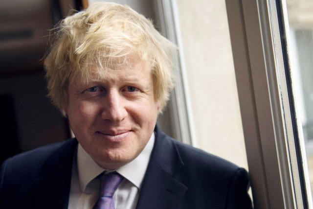 Le bouillonnant et très communicant maire de Londres, Boris... (PHOTO MIGUEL MEDINA, ARCHIVES AFP)