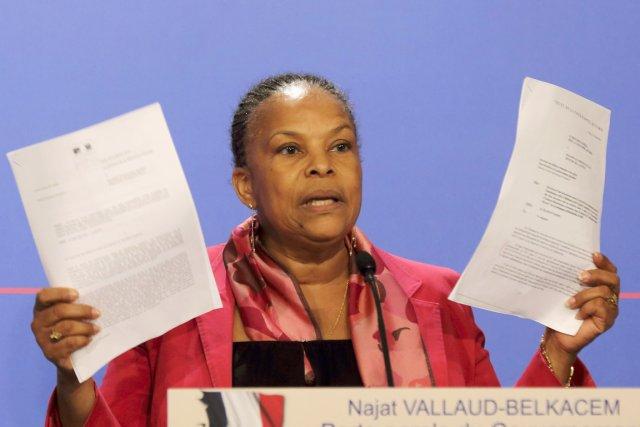 Christiane Taubira, icône du gouvernement de gauche, a-t-elle... (PHOTO PHILIPPE WOJAZER, REUTERS)