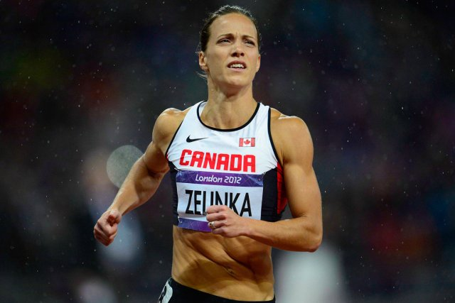 La Canadienne Jessica Zelinka participera samedi au 60... (Photo Sean Kilpatrick, archives PC)
