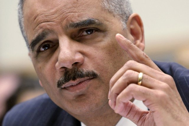Eric Holder, ministre américain de la Justice... (Photo archives Reuters)