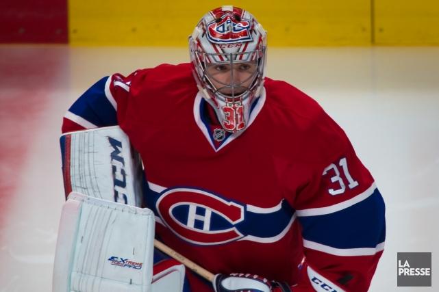 Carey Price renouera-t-il avec l'action, samedi, à l'occasion... (Photo André Pichette, La Presse)