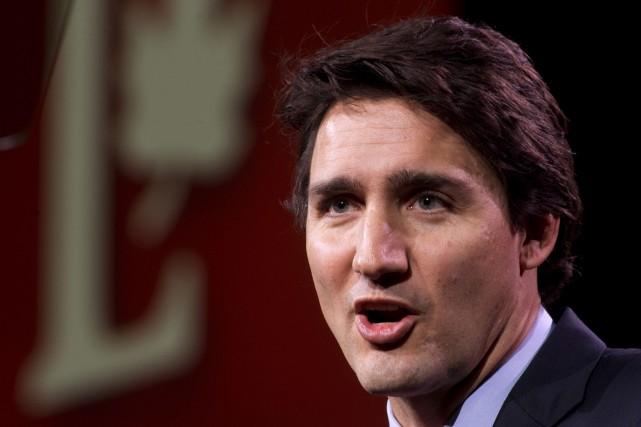 Le chef du Parti libéral du Canada, Justin... (Archives La Presse Canadienne)