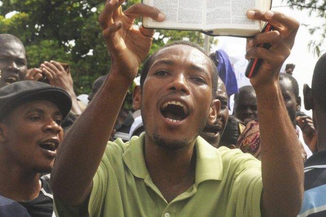 Le Nigéria est l'un des 38 pays africains... (Photo THONY BELIZAIRE, AFP)