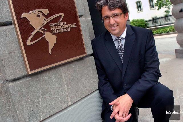 Denis Desgagné, président et directeur général du Centre... (Photothèque Le Soleil, Jean-Marie Villeneuve)