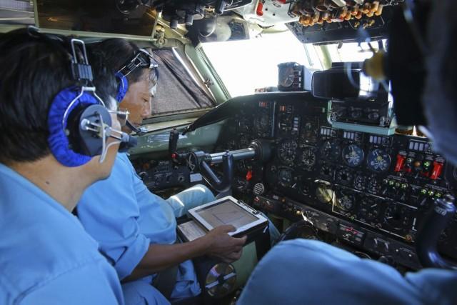Le volMH370 a disparu des radars avec 239... (PHOTO AP)