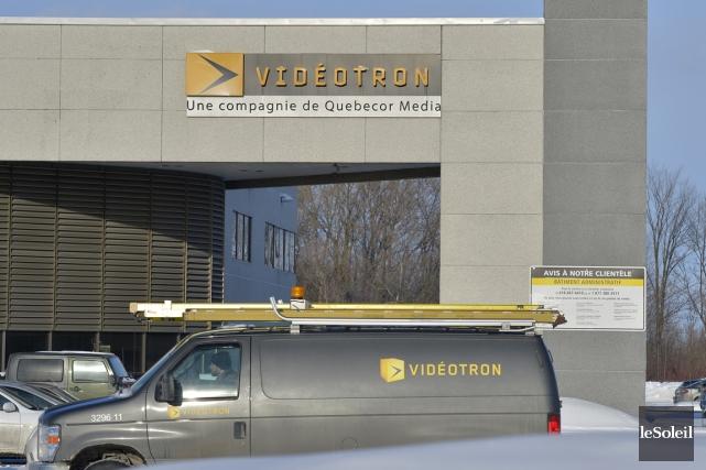 Vidéotron étudie actuellement plusieurs projets en anglais, alors... (Photo Yan Doublet, Le Soleil)