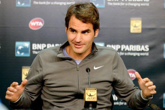Roger Federer est l'un des deux derniers joueurs... (Photo Jayne Kamin-Oncea-USA Today)
