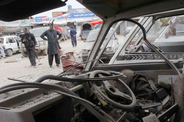 Un attentat-suicide contre des policiers a fait au... (PHOTO A MAJEED, AFP)
