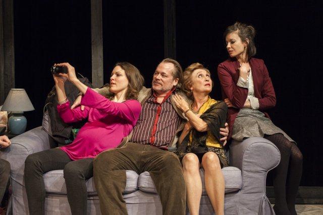 Rachel Graton, Martin Faucher, Louise Turcot et Raphaëlle... (Photo: fournie par le Théâtre d'Aujourd'hui)