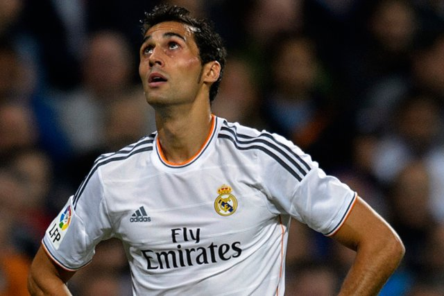 Le défenseur du Real Madrid Alvaro Arbeloa.... (Photo Dani Pozo, AFP)