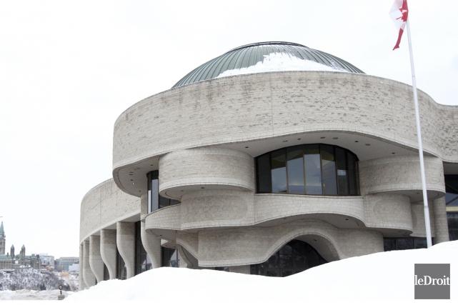 Musée Canadien de l'Histoire à Gatineau.... (Photo Étienne Ranger, archives Le Droit)