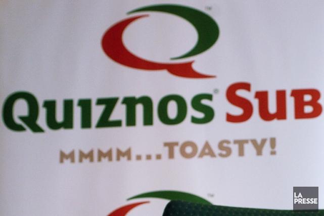 La chaîne de restauration rapide Quiznos a demandé vendredi la protection du... (Photo archives La Presse)