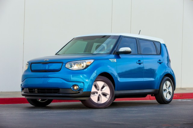 La Kia Soul EV... (Photo fournie par Kia)
