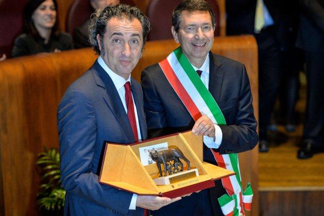 Paolo Sorrentino a reçu la médaille dite de... (Photo: AFP)