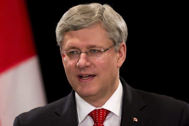 StephenHarper sera le premier leader du G7 à... (Photo Darryl Dyck, La Presse Canadienne)