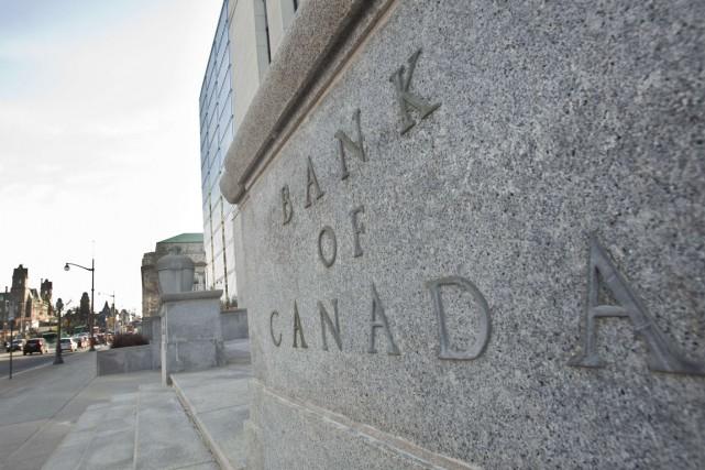 Le taux directeur de la Banque du Canada... (PHOTO GEOFF ROBINS, ARCHIVES AFP)