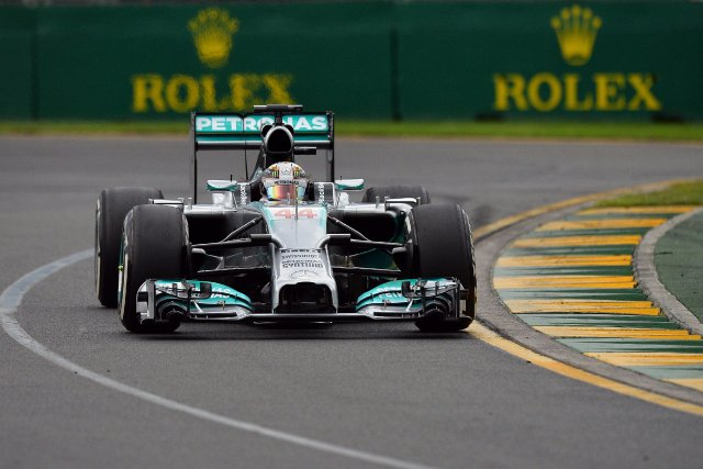 Lewis Hamilton a été le pilote le plus... (Photo Saeed KHAN, AFP)