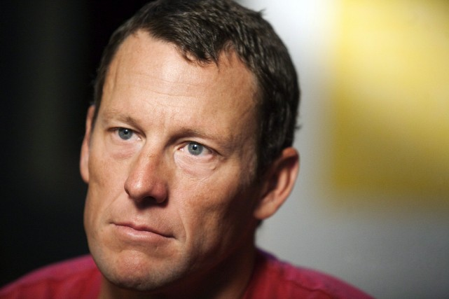 Lance Armstrong.... (Photo Thao Nguyen, archives PC)