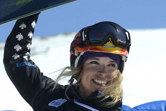 Dominique Maltais a gagné la médaille d'argent aux... (AFP)