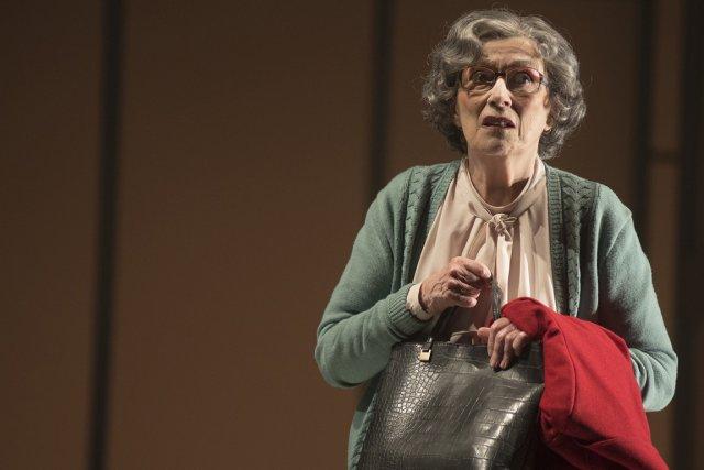 Monique Miller, dans le rôle d'Albertine à 70... (Photo fournie par le TNM)