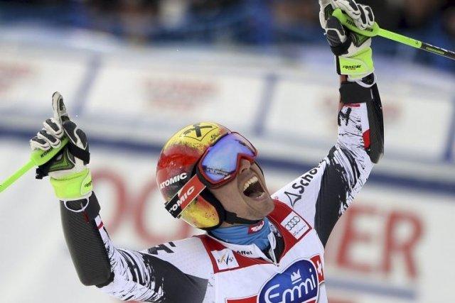Marcel Hirscher... (Photo Fabrice Coffrini, AFP)