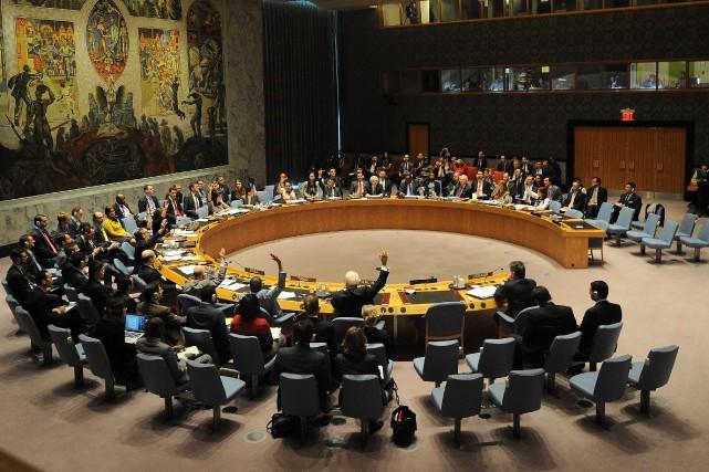 Les membres du Conseil de sécurité de l'ONU... (Photo d'archives AFP)