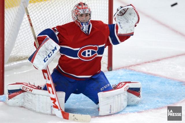 Carey Price n'a pas joué depuis qu'il a... (Photo Bernard Brault, archives La Presse)