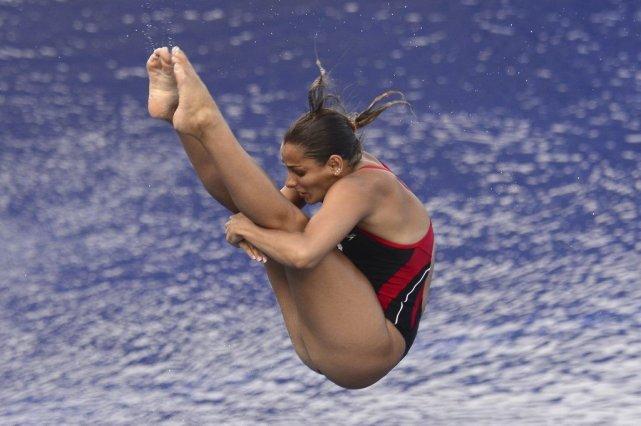 Pamela Ware lors d'une précédente compétition.... (PHOTO d'archives REUTERS)