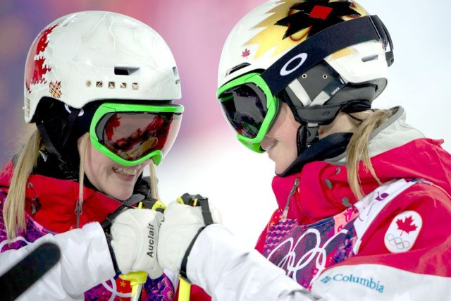 Comme à Sotchi, les soeurs Justine et Chloé... (Photo archives PC)