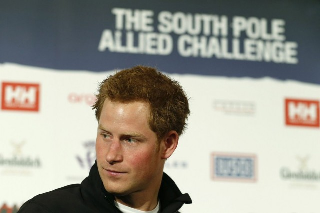 Le vrai prince Harry.... (PHOTO SUZANNE PLUNKETT, ARCHIVES REUTERS)