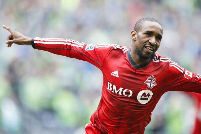 Jermain Defoe a inscrit un doublé à son... (PHOTO JOE NICHOLSON, USA TODAY)