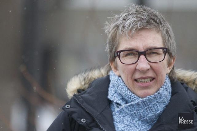 La candidate du PQ Louise Mailloux avaitqualifié le... (PHOTO IVANOH DEMERS, LA PRESSE)