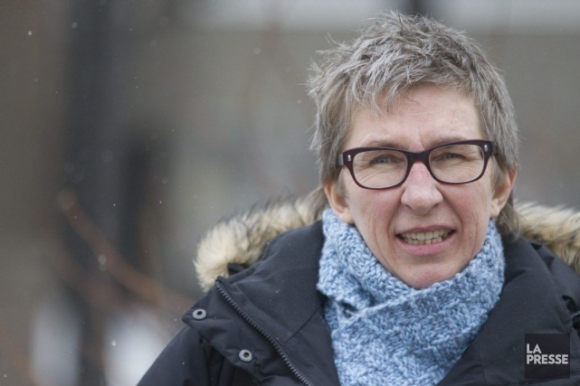 Louise Mailloux... (PHOTO IVANOH DEMERS, LA PRESSE)