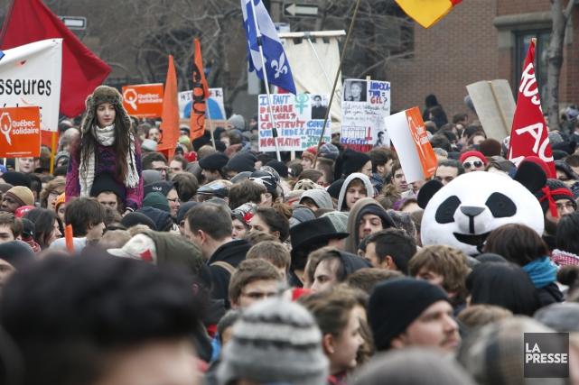 Une manifestation à laquelle a déjà pris part... (Photothèque La Presse)