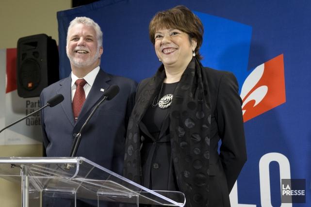 Parmi les recrues féminines libérales, une seule semble... (Photo Robert Skinner, archives La Presse)