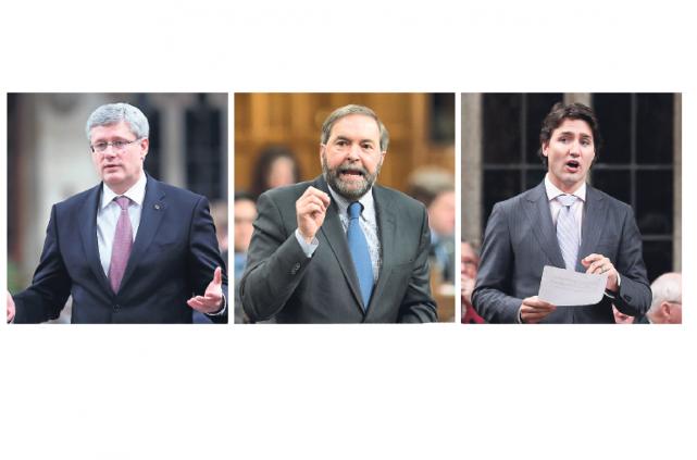L'entrée en scène de Pierre Karl Péladeau chamboule la donne politique non... (Photo Reuters et La Presse Canadienne)