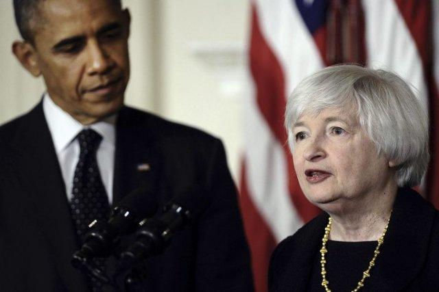 La nouvelle présidente de la Réserve fédérale (Fed),... (PHOTO JEWEL SAMAD, AFP)