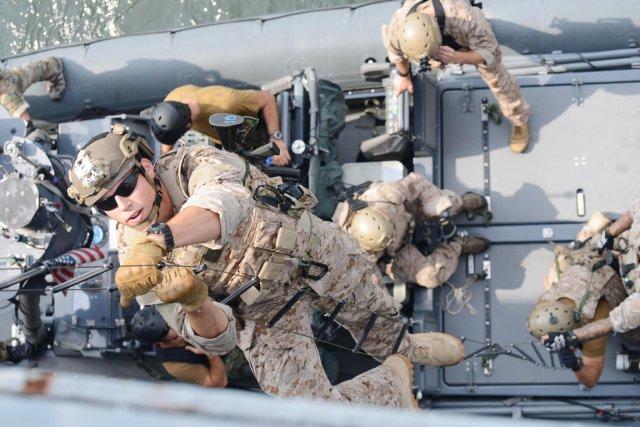 La marine américaine a ainsi mis fin à... (PHOTO ARCHIVES AFP/MARINE AMÉRICAINE)