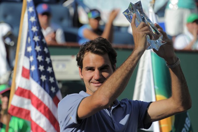 Roger Federer a atteint la finale au tournoi... (Photo Joe Klamar, AFP)