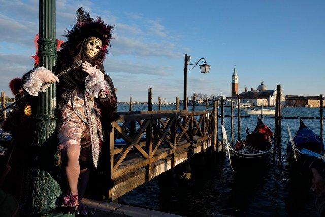 Ambiance à Venise.... (Photo archives Reuters)